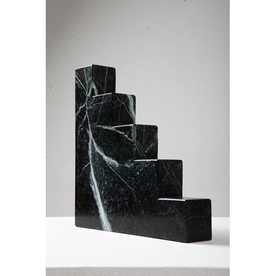 Serre livres Ermioni - marbre  - Design : Faye Tsakalides