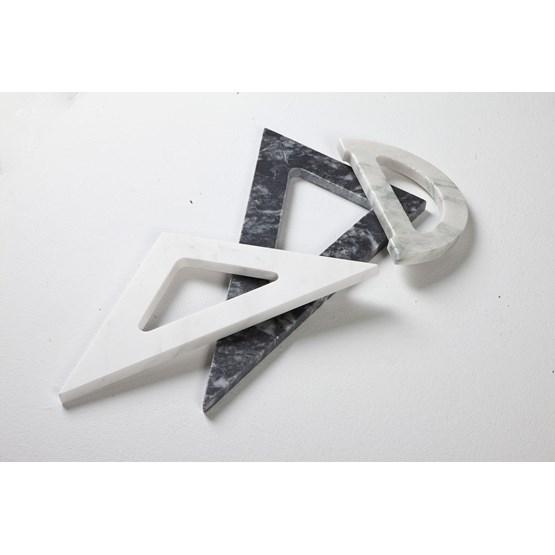 Accessoires de bureau Thalis & Pythagoras - marbre - Design : Faye Tsakalides