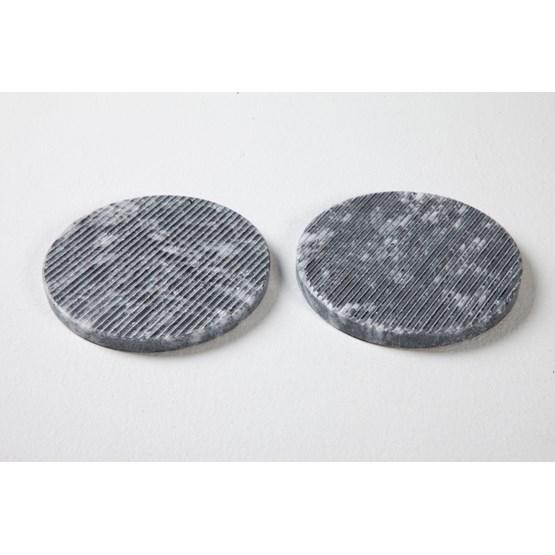 Set de 2 dessous de verres Sophia - marbre  - Design : Faye Tsakalides
