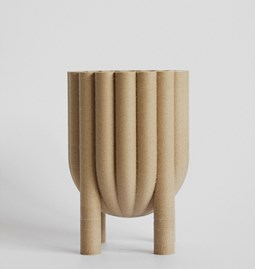 TUBE pot no.1_1 - beige