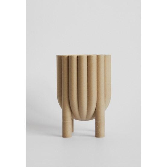 Pot TUBE no.1_1 - beige - Design : La double clique