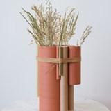 Vase TUBE no.2_6 - rouge 2