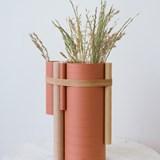 Vase TUBE no.2_6 - rouge 3