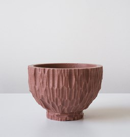 GOUGE bowl - red