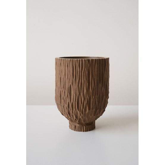 GOUGE pot - brown - Design : La double clique
