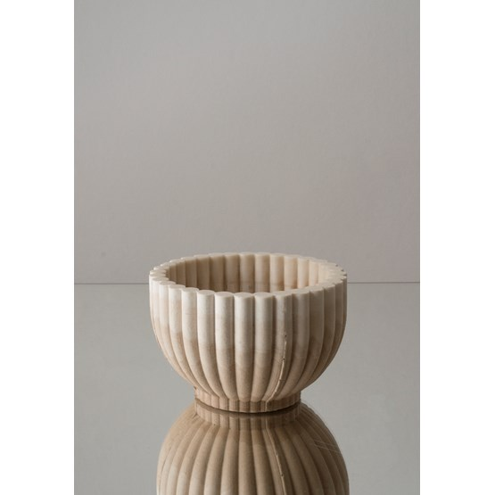 MIRABILIA bowl - beige - Design : La double clique