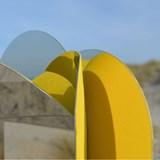 Miroir mural Dune - jaune 4