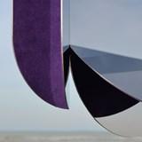 Dune wall mirror - purple 4
