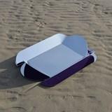 Dune wall mirror - purple 3