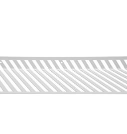 Grid 01 Wall Shelf - white
