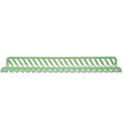 Grid 02 Wall Shelf - pastel green