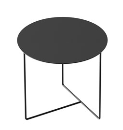 Table d'appoint Solid 01 - noir