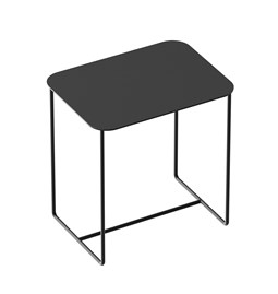 Table d'appoint Solid 02 - noir