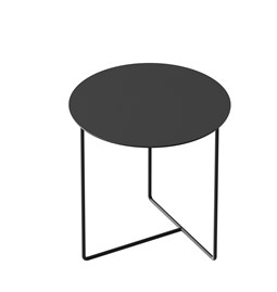 Table d'appoint Solid 03 - noir