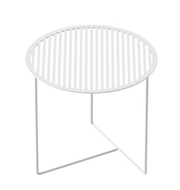 Table d'appoint Grid 01 - blanc