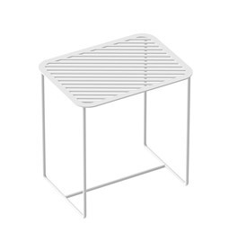 Table d'appoint Grid 02 - blanc