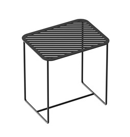 Table d'appoint Grid 02 - noir