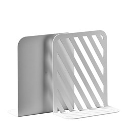 Solid 01 Bookend - white