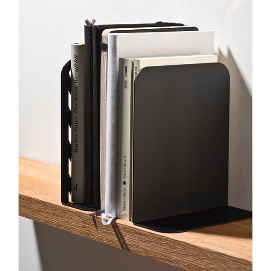 Solid 01 Bookend - black - Design : weld & co