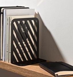 Grid 01 Bookend - black