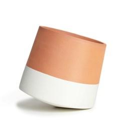 Voltasol Mini flowerpot - white