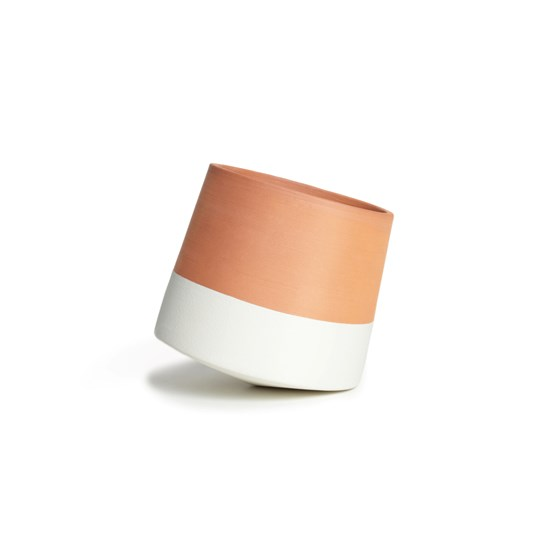 Voltasol Mini flowerpot - white - Design : livingthings