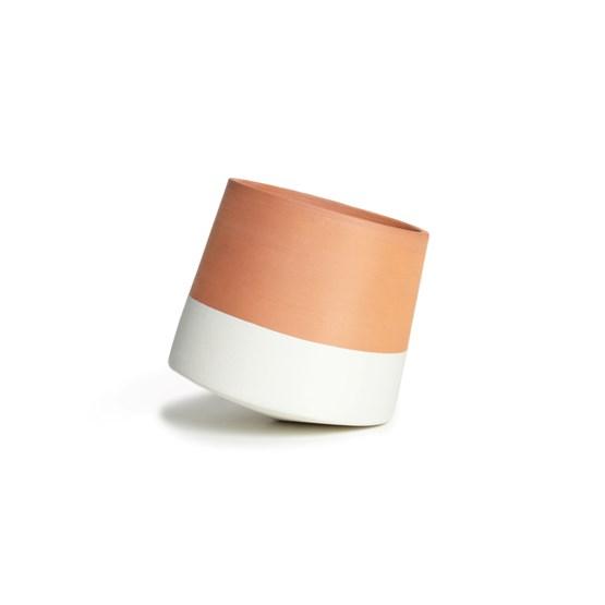 Pot Voltasol - blanc - Design : livingthings