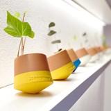 Voltasol flowerpot - yellow 2