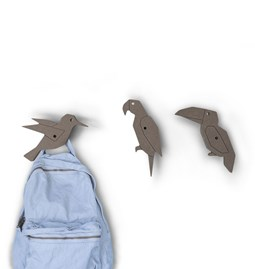 Bird Coat Hook  - set of 3 (choose)