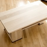 Disquadro coffee table - oak 3