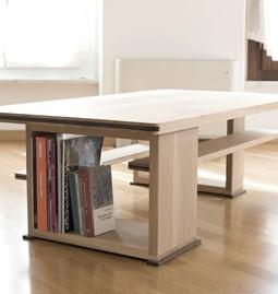 Disquadro coffee table - oak
