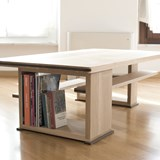 Disquadro coffee table - oak 2