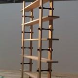 Wood locked Bookshelf Libreria Ad Incastri - oak 3