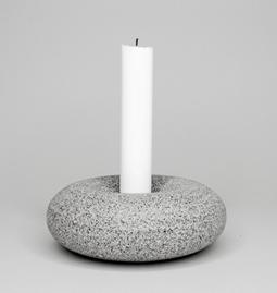 Lavala candleholder - porcelain