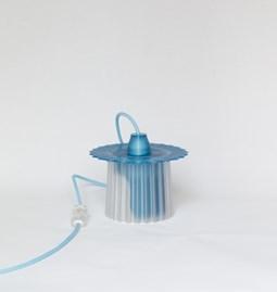 Lampe Amanda - bleu