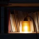 Lampe Amanda - ambre 4