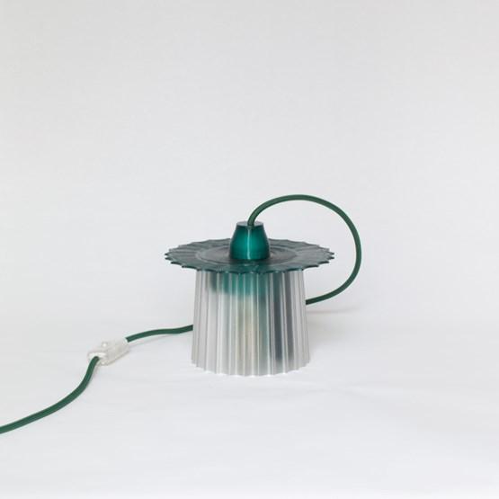 Lampe Amanda - vert émeraude - Design : Warren & Laetitia