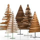 Sapin en bois Yelka - érable / noir 4