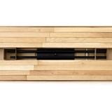 Sapin en bois Yelka - érable / noir 2