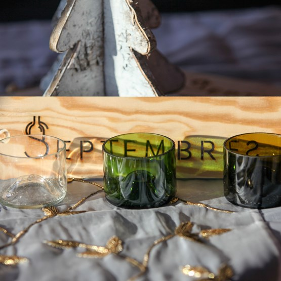 Set of 4 tapas glasses Jules - Design : Septembres