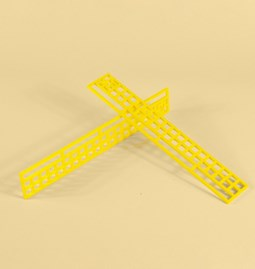 Asto ruler 20cm - yellow
