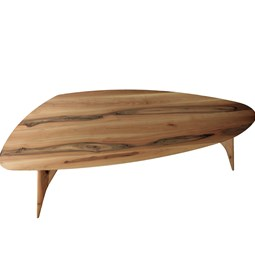 TED Table / large - blond walnut