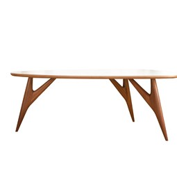 TED ONE Table / medium - white
