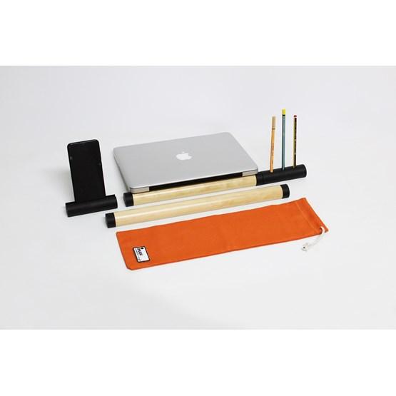 IMAN poste de travail - Orange set - Design : Hugi.r