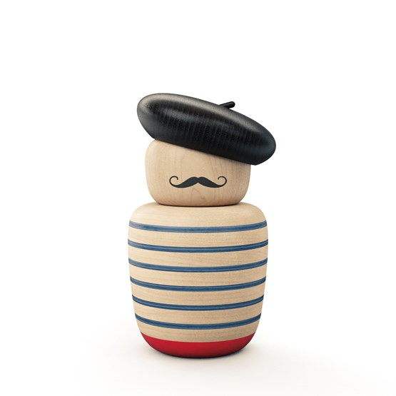 Figurine en bois L'Artist - Design : Bright Potato