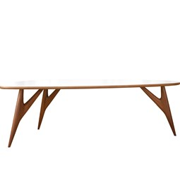 Table TED / large - blanche
