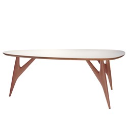 Table TED / small - blanche