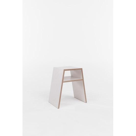Tabouret S - blanc - Design : Brauchst