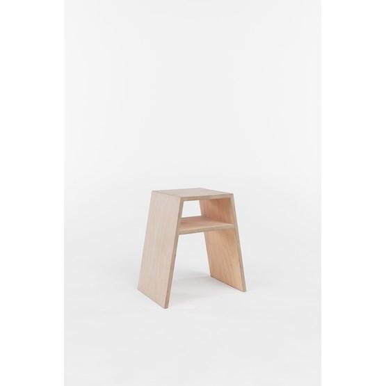 Stool S - birch - Design : Brauchst
