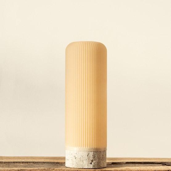 Plume 190 vase - mussel - Design : Poule